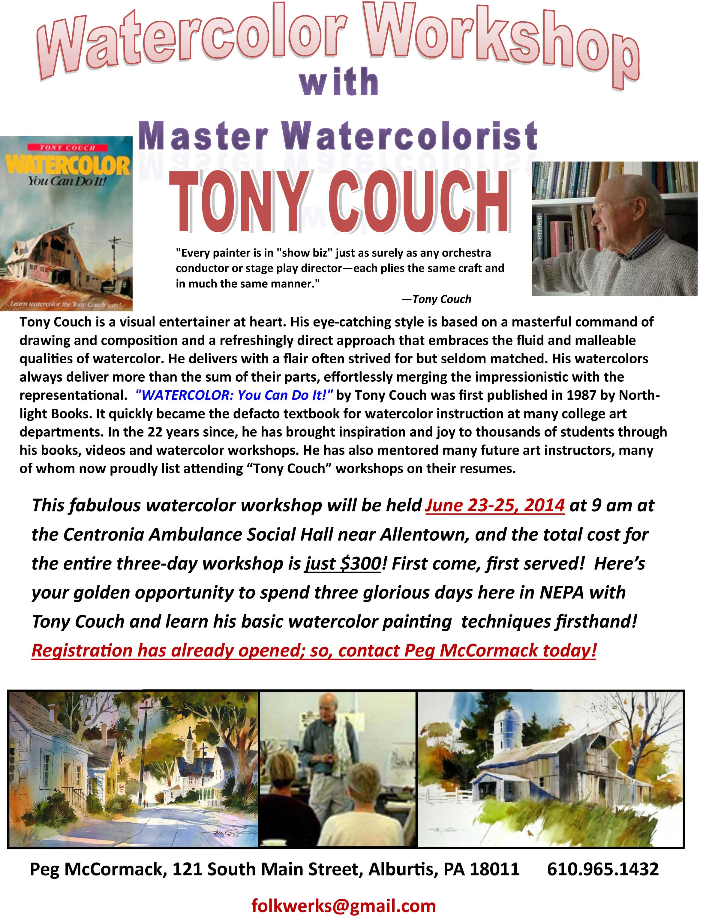 Toncy Couch 06232014 Flyer